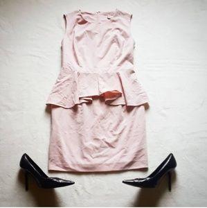 Forever 21 elegant pink peplum dress
